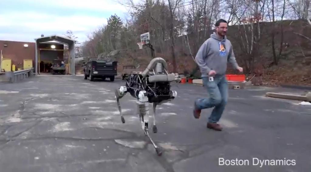 Boston Dynamics: Spot the Dog