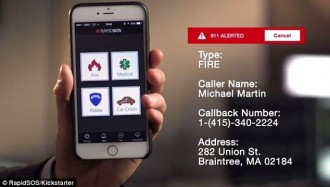 This App Can Save Your Life: One-Touch-911 App Makes Emergency Calls So Much Easier
