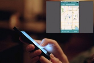 This App Will Let You Send a Secret Map Message that Can Only be Decoded by Walking