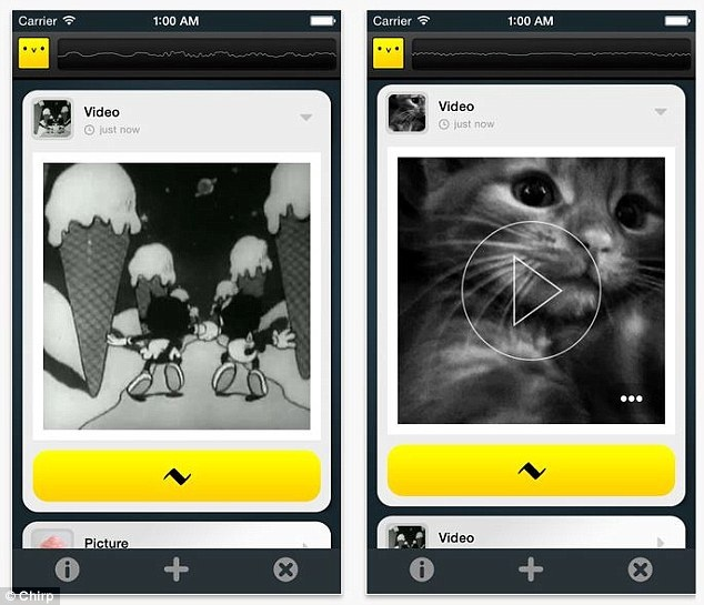 Chirp App: You Can Now Send and Receive Files Even Without Bluetooth