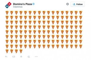 You Can Now Order Pizza by Simply Tweeting a Pizza Emoji