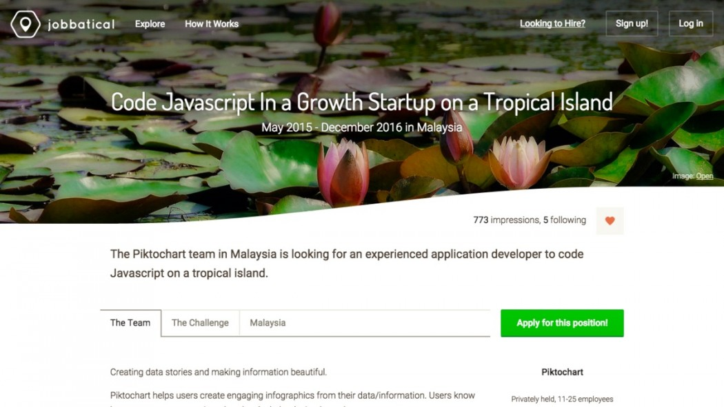Jobbatical Wants You to Ditch Your Job and Move to a Tropical Island and Work There for a Year